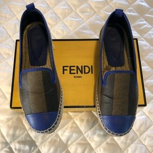 AUTHENTIC!! Fendi Espadrilles- EU 38/ US 7.5